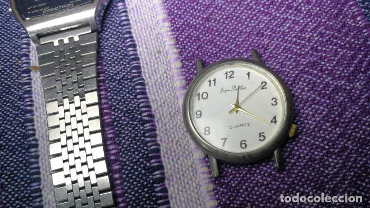 Recambios de relojes: Lote de 8 relojes VARIADOS están sin comprobar por tanto para reparar, repasar o piezas - Foto 26 - 140278422