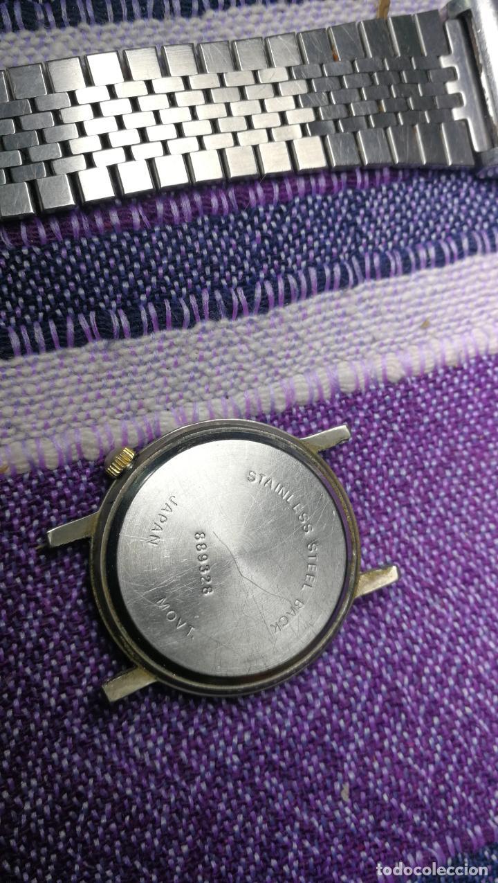 Recambios de relojes: Lote de 8 relojes VARIADOS están sin comprobar por tanto para reparar, repasar o piezas - Foto 27 - 140278422
