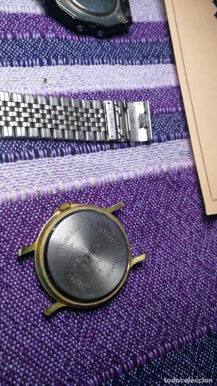 Recambios de relojes: Lote de 8 relojes VARIADOS están sin comprobar por tanto para reparar, repasar o piezas - Foto 34 - 140278422