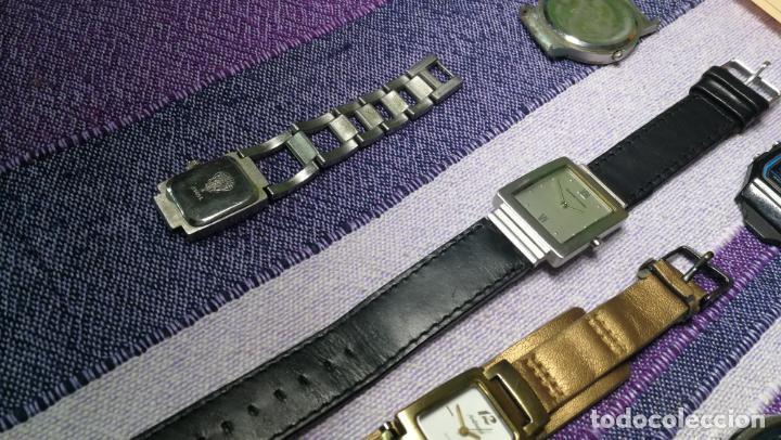 Recambios de relojes: Lote de 8 relojes VARIADOS están sin comprobar por tanto para reparar, repasar o piezas - Foto 36 - 140278422