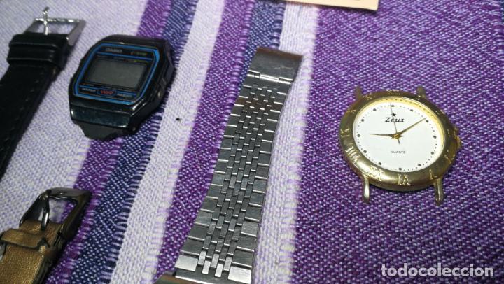 Recambios de relojes: Lote de 8 relojes VARIADOS están sin comprobar por tanto para reparar, repasar o piezas - Foto 39 - 140278422
