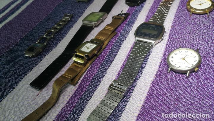 Recambios de relojes: Lote de 8 relojes VARIADOS están sin comprobar por tanto para reparar, repasar o piezas - Foto 41 - 140278422