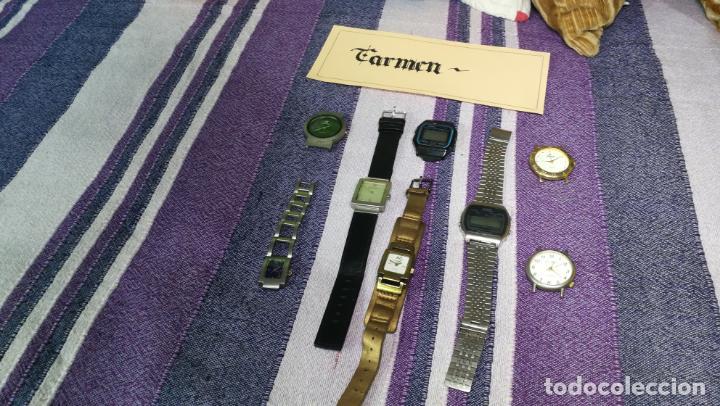 Recambios de relojes: Lote de 8 relojes VARIADOS están sin comprobar por tanto para reparar, repasar o piezas - Foto 42 - 140278422