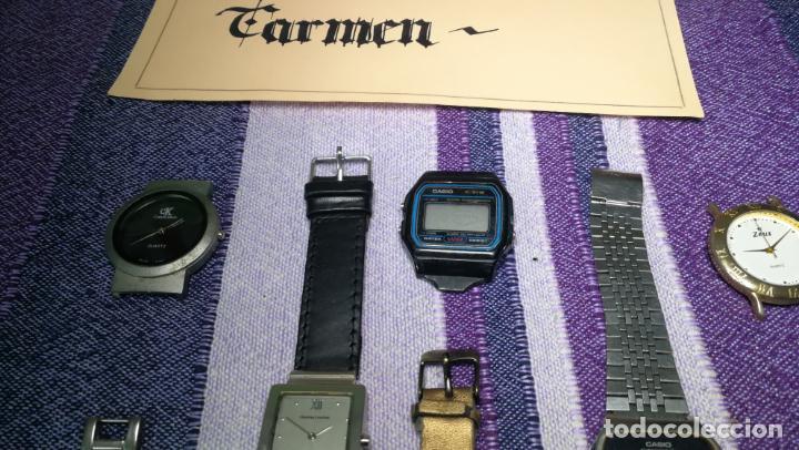 Recambios de relojes: Lote de 8 relojes VARIADOS están sin comprobar por tanto para reparar, repasar o piezas - Foto 43 - 140278422