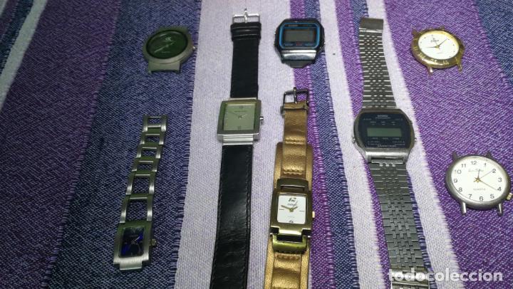 Recambios de relojes: Lote de 8 relojes VARIADOS están sin comprobar por tanto para reparar, repasar o piezas - Foto 44 - 140278422