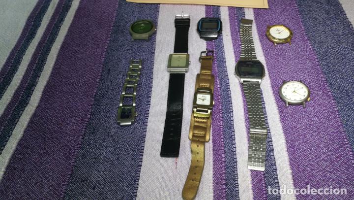 Recambios de relojes: Lote de 8 relojes VARIADOS están sin comprobar por tanto para reparar, repasar o piezas - Foto 45 - 140278422