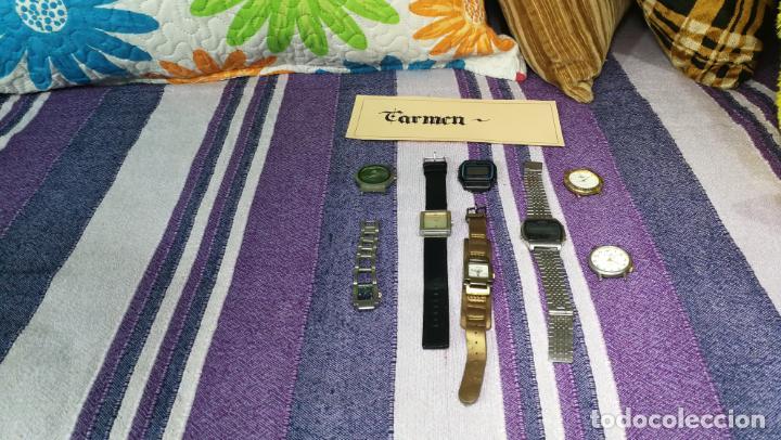 Recambios de relojes: Lote de 8 relojes VARIADOS están sin comprobar por tanto para reparar, repasar o piezas - Foto 46 - 140278422