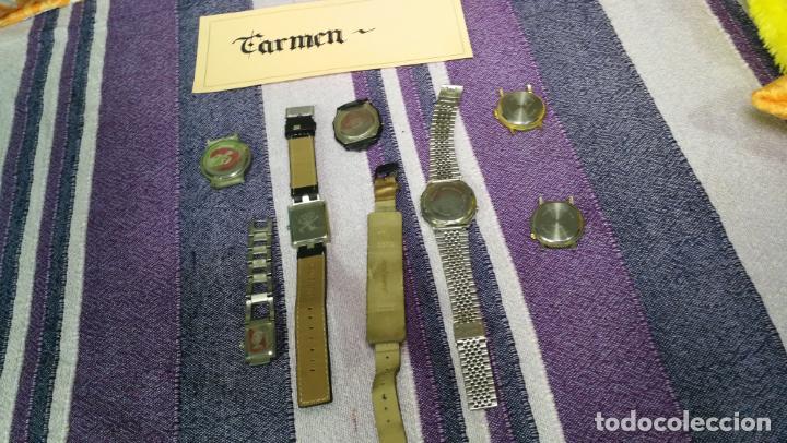 Recambios de relojes: Lote de 8 relojes VARIADOS están sin comprobar por tanto para reparar, repasar o piezas - Foto 47 - 140278422