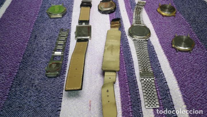 Recambios de relojes: Lote de 8 relojes VARIADOS están sin comprobar por tanto para reparar, repasar o piezas - Foto 48 - 140278422