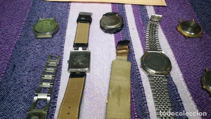 Recambios de relojes: Lote de 8 relojes VARIADOS están sin comprobar por tanto para reparar, repasar o piezas - Foto 49 - 140278422