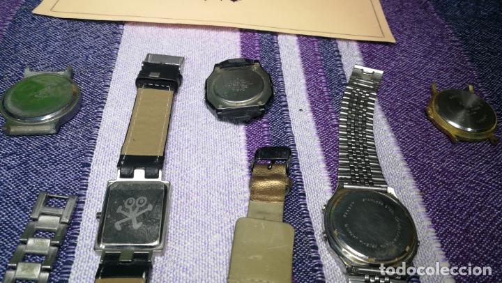 Recambios de relojes: Lote de 8 relojes VARIADOS están sin comprobar por tanto para reparar, repasar o piezas - Foto 50 - 140278422