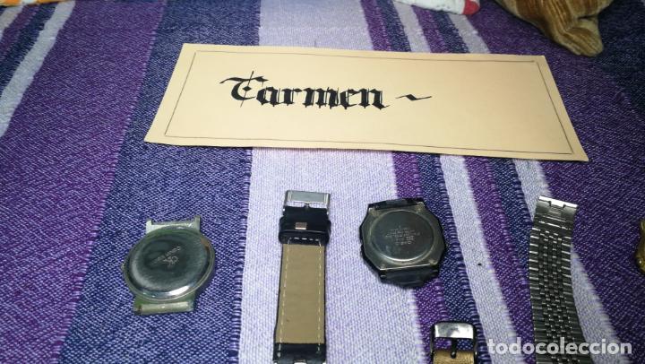 Recambios de relojes: Lote de 8 relojes VARIADOS están sin comprobar por tanto para reparar, repasar o piezas - Foto 51 - 140278422