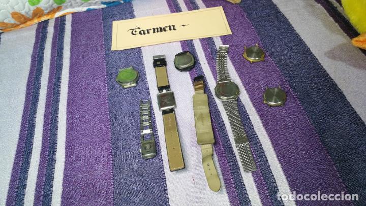 Recambios de relojes: Lote de 8 relojes VARIADOS están sin comprobar por tanto para reparar, repasar o piezas - Foto 52 - 140278422