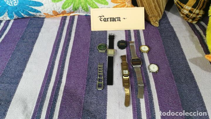 Recambios de relojes: Lote de 8 relojes VARIADOS están sin comprobar por tanto para reparar, repasar o piezas - Foto 53 - 140278422