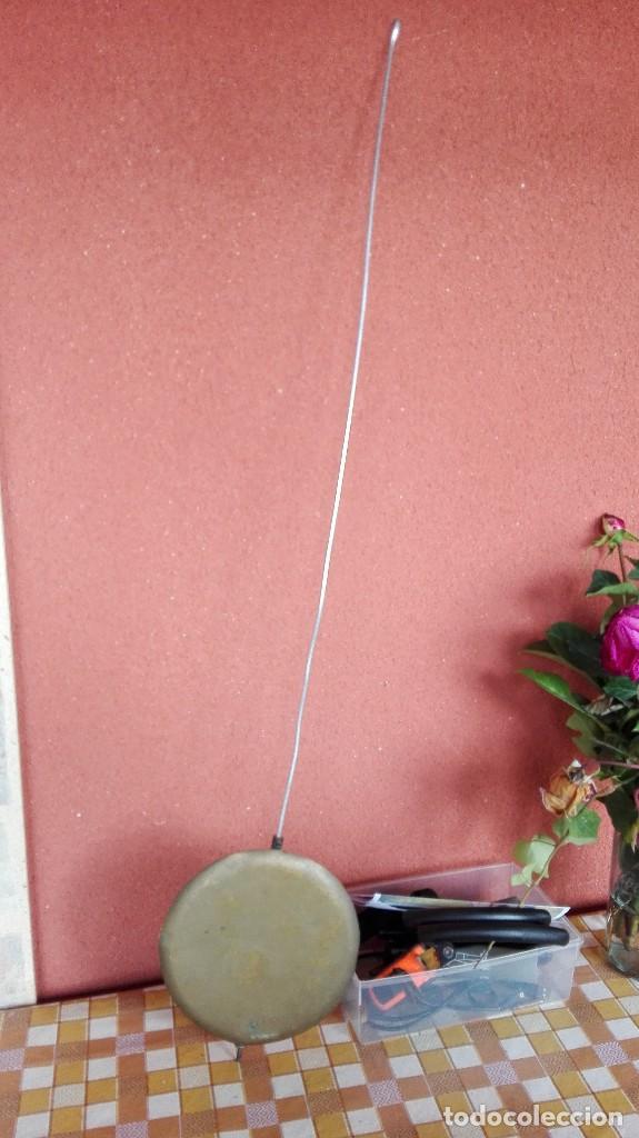 Recambios de relojes: antiguo pendulo TIPO tijera para reloj Morez de pesas- - BUEN ESTADO- lote 141 - Foto 2 - 140588990