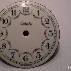 Recambios de relojes: ANTIGUA ESFERA SCHATZ. Lote 140655354