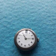 Recambios de relojes: RELOJ MARCA THAIS, MUY ANTIGUO CON ASAS FIJAS Y CAJA DE PLATA. Lote 141689854