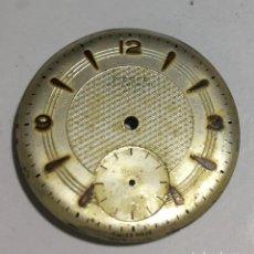 Recambios de relojes: ESFERA FIRMADA PIERCE - 29,6 M/M.Ø. Lote 141830542