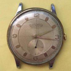 Recambios de relojes: RELOJ JUNCALWATCH, VINTAGE GRANDE,HOMBRE,MECANISMO AMIDA. NO FUNCIONA.. Lote 142044638