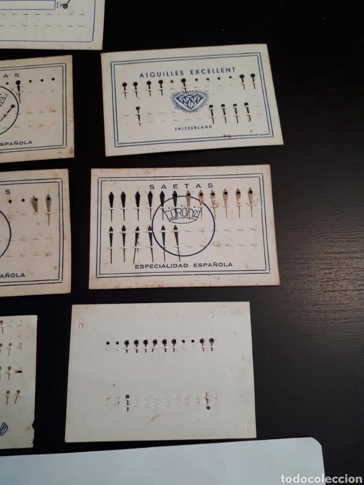 Recambios de relojes: Lote recambios relojes antiguos A - Foto 5 - 142112322