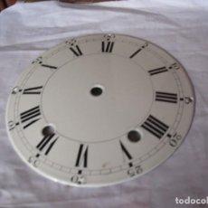 Recambios de relojes: ANTIGUA ESFERA ABOMBADA PARA RELOJ MOREZ PESAS- LOTE 112. Lote 152214697