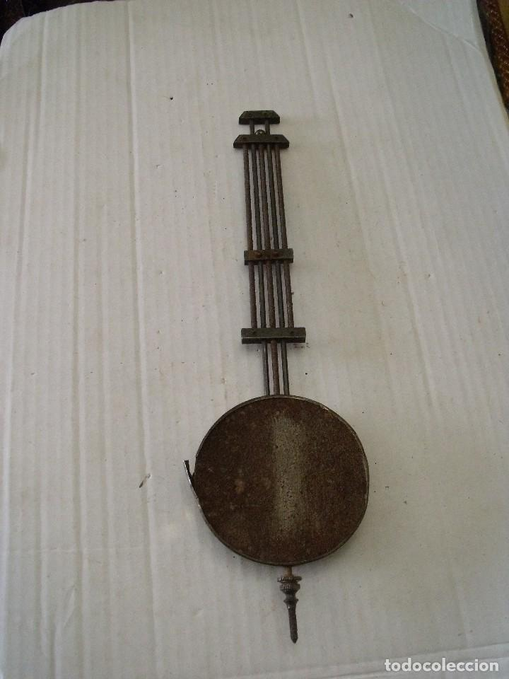 Recambios de relojes: antiguo pendulo para reloj alfonsino- lote 150 - Foto 2 - 143720210