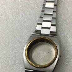 Recambios de relojes: CAJA Y SU ARMYS PARA RELOJ AUTOMÁTICO 38 MM EN PERFECTO ESTADO. Lote 143732789