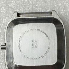 Recambios de relojes: CAJA CUADRADA PARA RELOJ AUTOMÁTICO PAT 878248 EN PERFECTO ESTADO. Lote 143738560