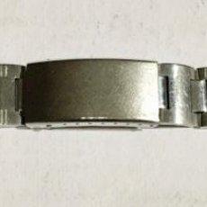 Recambios de relojes: PULSERA DE ACERO PARA RELOJES . MEDIDAS: LARGO MAX 155 M/M. - ANCHO 16,3 M/M.. Lote 144268802