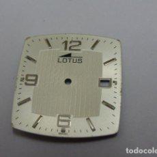 Recambios de relojes: ESFERA LOTUS. MIYOTA 9U15. Lote 144638586