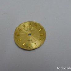 Recambios de relojes: ESFERA CYMA.. Lote 144639410