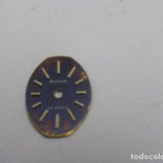 Recambios de relojes: ESFERA BULOVA 5BD. Lote 145239254