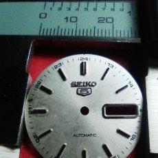 Recambios de relojes: ESFERA SEIKO 5. Lote 145419646