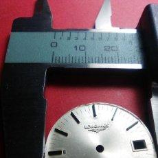 Recambios de relojes: ESFERA LONGINES. Lote 145515886