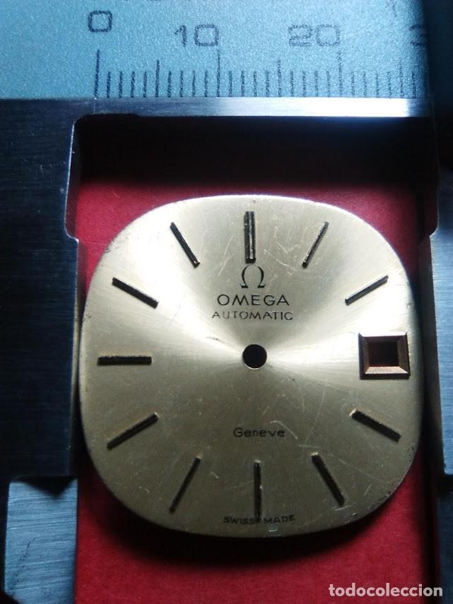 ESFERA OMEGA COLOR CAVA (Relojes - Recambios)