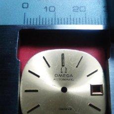 Recambios de relojes: ESFERA OMEGA COLOR CAVA. Lote 145521022