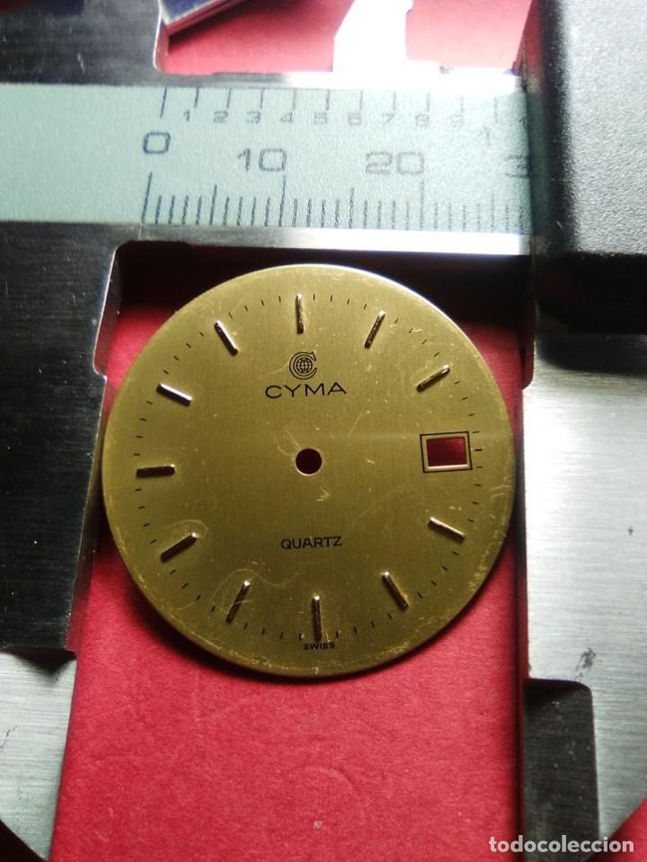 ESFERA CYMA COLOR CAVA (Relojes - Recambios)