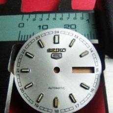 Recambios de relojes: ESFERA SEIKO 5. Lote 145679726