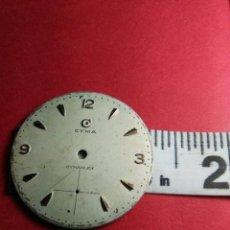 Recambios de relojes: CYMA CAB. ESFERA ORIGEN VINTAGE. Lote 145786894