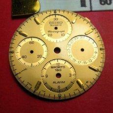 Recambios de relojes: SEIKO CRONO - ESFERA CAVA. Lote 145812750
