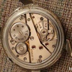 Recambios de relojes: RELOJ DE PULSERA CARGA MANUAL CABALLERO TECHNOS 1130, FUNCIONA. Lote 146033562