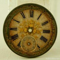 Recambios de relojes: PRECIOSA ESFERA DE RELOJ DE BOLSILLO ANTIGUO 44.7MM. Lote 146267830