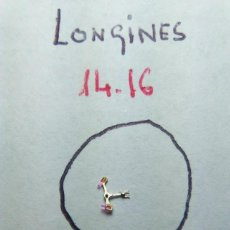 Recambios de relojes: LONGINES 14 . 16 - ANCORA. Lote 146366510