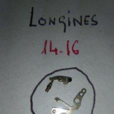 Recambios de relojes: LONGINES - 14.16 - PZA.445+TIRETE Y TORNILLO. Lote 146744922