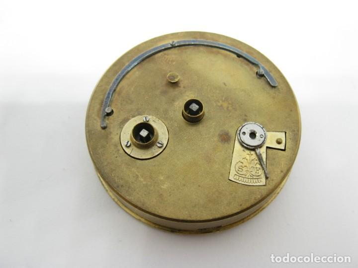 MOVIMIENTO BUREN RELOJ DE BOLSILLO PIEZAS (Relojes - Recambios)