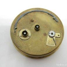 Recambios de relojes: MOVIMIENTO BUREN RELOJ DE BOLSILLO PIEZAS. Lote 146880866