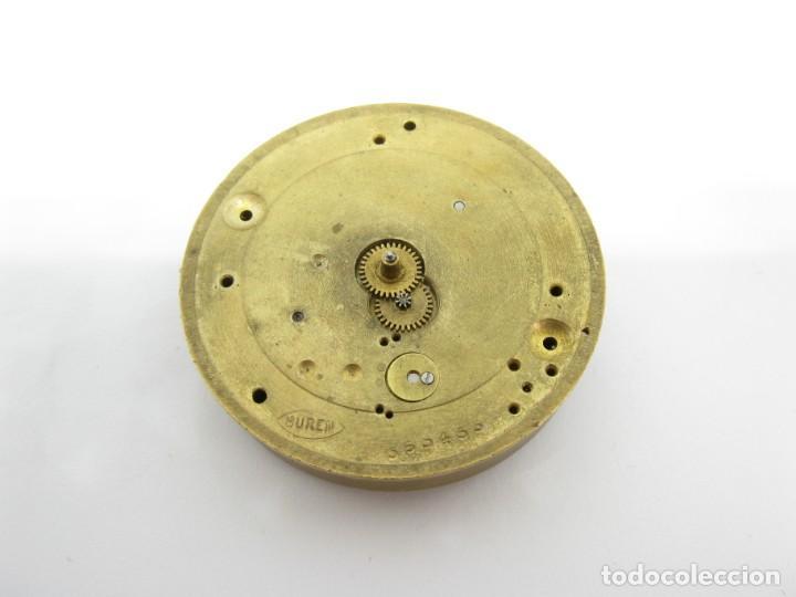 Recambios de relojes: Movimiento Buren reloj de bolsillo piezas - Foto 2 - 146880866