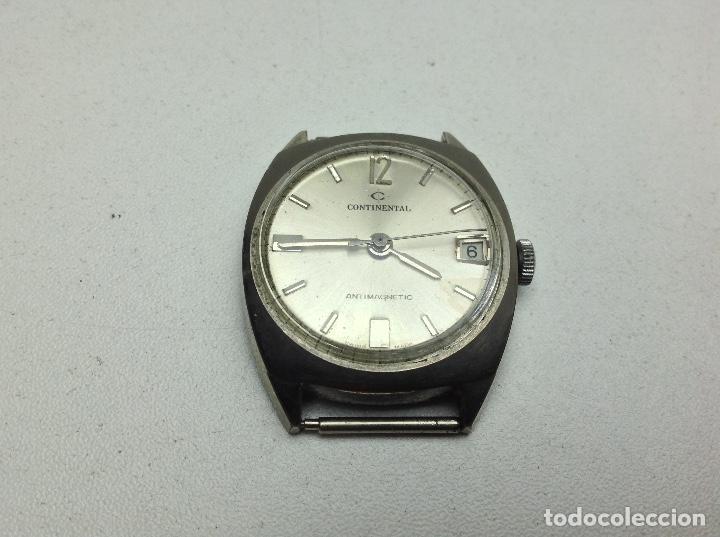 RELOJ SIN LA PULSERA - CONTINENTAL - NO FUNCIONA (Relojes - Recambios)