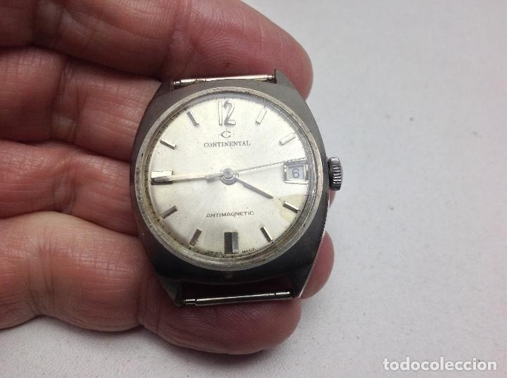 Recambios de relojes: RELOJ SIN LA PULSERA - CONTINENTAL - NO FUNCIONA - Foto 2 - 147051066