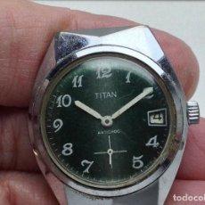Recambios de relojes: RELOJ SIN LA PULSERA - TITAN - NO FUNCIONA . Lote 147156866
